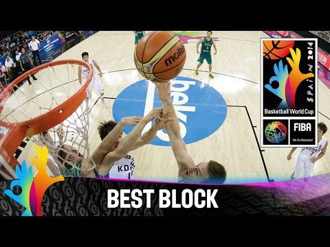 Korea v Australia - Best Block - 2014 FIBA Basketball World Cup