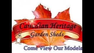 Canadian Heritage Garden Sheds