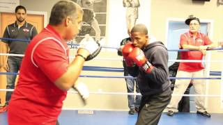 Video Felix Verdejo Doing very fast and sharp pad work download MP3, 3GP, MP4, WEBM, AVI, FLV April 2018
