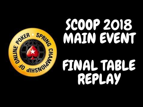 SCOOP 2018 | $10,300 NLHE Main Event