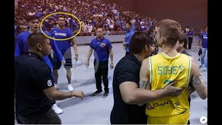 Aguilar dad stands accused as Aussies rue chair-throwing incident