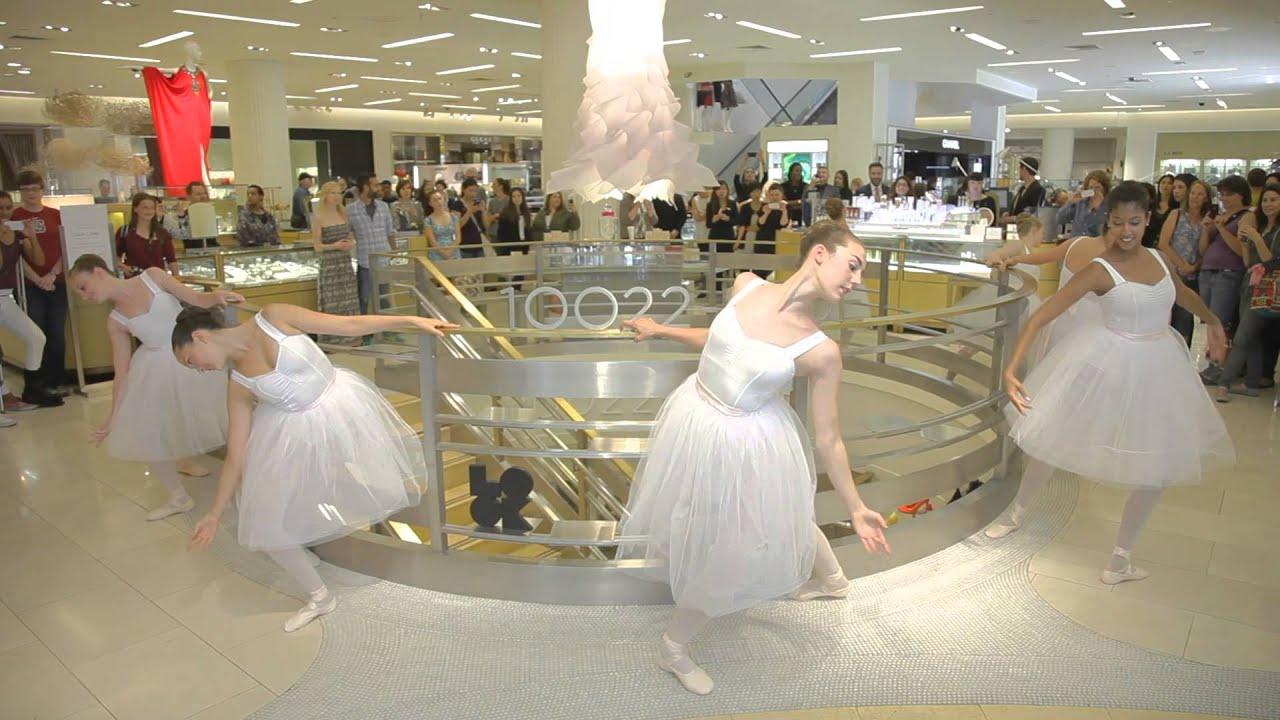 Iris Prima Ballerinas - Saks Fifth Avenue San Francisco - YouTube
