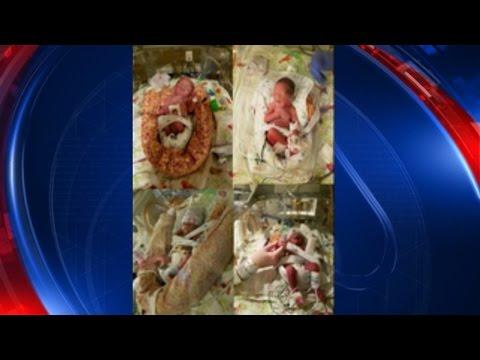Georgia couple gives birth to quadruplets