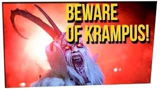 WS - Beware The Wrath of Krampus! ft. Khalyla Khun, Gilbert Galon & DavidSoComedy