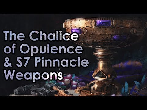 Destiny 2: The Chalice of Opulence, New Pinnacle Weapon Preview & More
