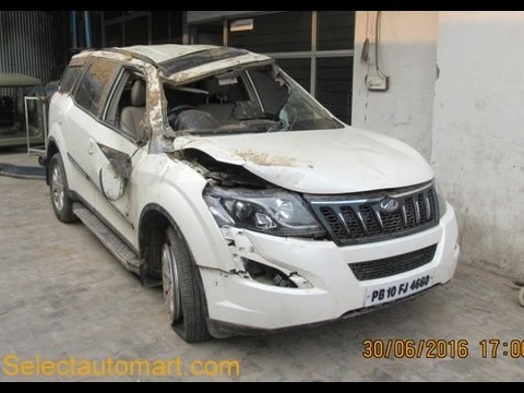 Mahindra Xuv 500 Latest Car Accident India Youtube
