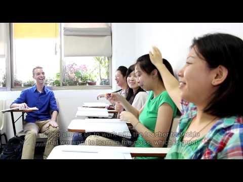 Scott Learning Chinese at Tunghai University, Taiwan (English Caption)