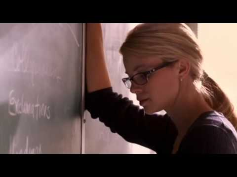 "Amy Smart freaking out in ""Love N' Dancing"""