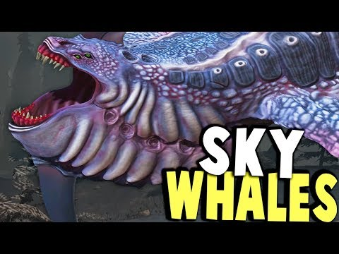HUNTING THE SKY LEVIATHAN WHALES?! SCARIEST CRAP EVER - Desolate Gameplay