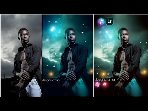 Green Moody color effect Lightroom Picsart Instagram viral photo Editing Tutorial thumbnail