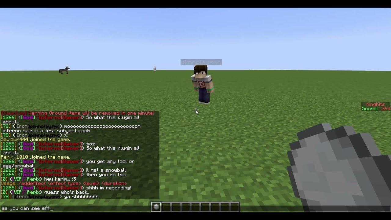 Minecraft - Plugin Review - ToolAndFoodFX -