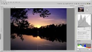Capture NX 2 Blending Mode_For Better Sunsets