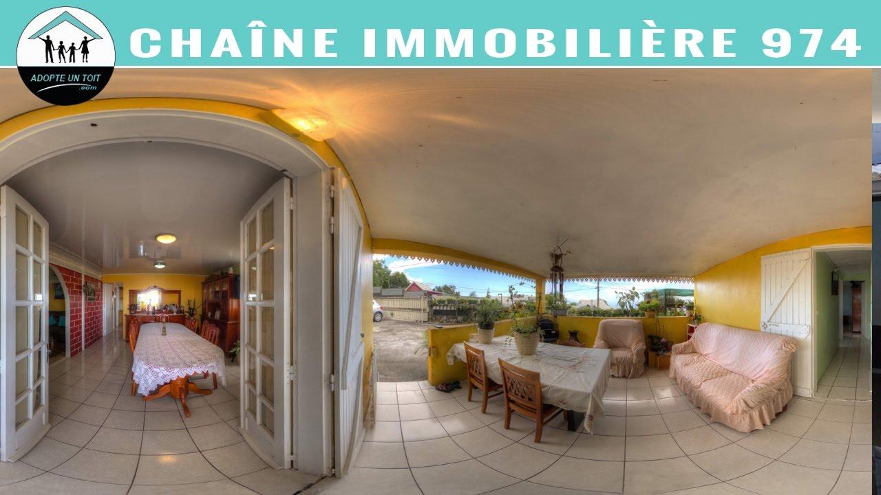 Saint paul vente maison 97434 m17265 adopte un toit for Agence immobiliere 974 reunion