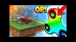 PrestonPlayz Minecraft OP MINECRAFT RAINBOW FIDGET SPINNER! (Minecraft BED WARS Challenge)