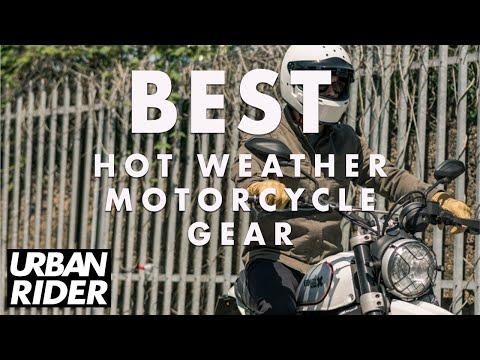 Best Hot Weather Motorcycle Gear