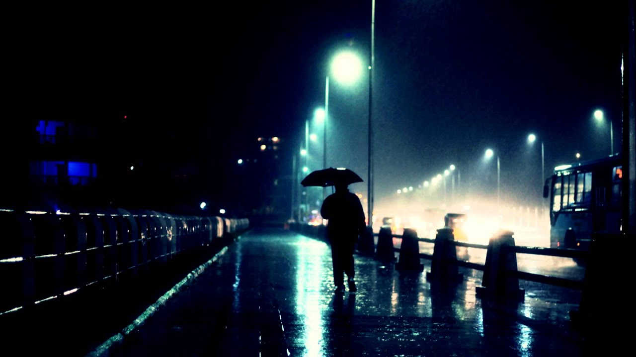sad rainy night - 1024×683