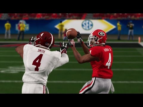 Alabama Vs Georgia 2018 SEC Championship Game NCAA College Football 12/1