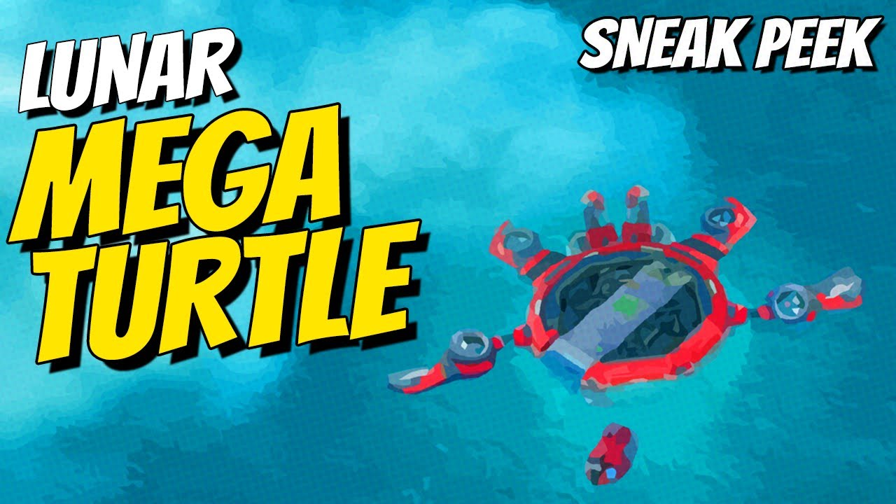 Download Lunar Mega Turtle! Boom Beach Sneak Peek!
