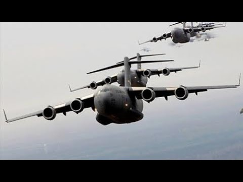Military Weapon Information -  This is a large military transport aircraft US Air Force