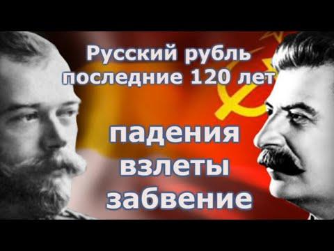 Русский рубль последние 120 лет  Падения, взлеты и забвение