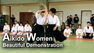 Aikido Women in Japan- Beautiful Demonstration