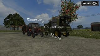 Farming Simulator 2011 | Radan_cz | CoursePlay Tutorial | Lekce : 1 Základy a žně