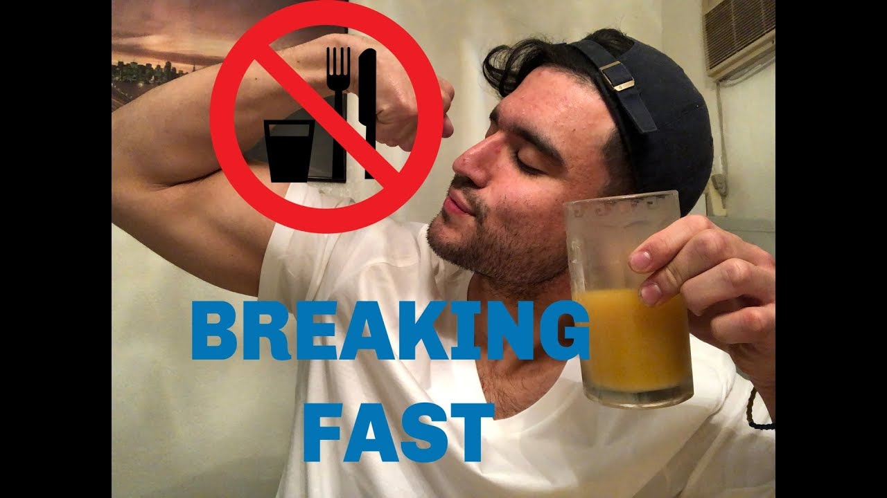Breaking water fast after 2 weeks food reaction