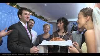 Встреча хлебом-солью. Свадьба. Нижний Новгород