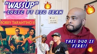 Logic - Wassup ft. Big Sean | REACTION | (Official Audio)