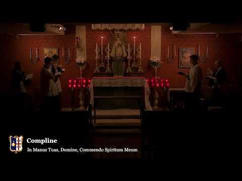 Compline: 10 PM EASTERN TIME (ET)