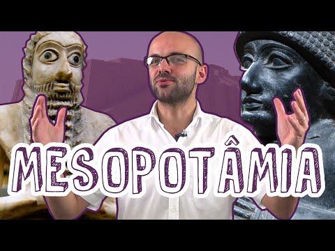 História - Mesopotâmia - Localização, Economia e Sociedade