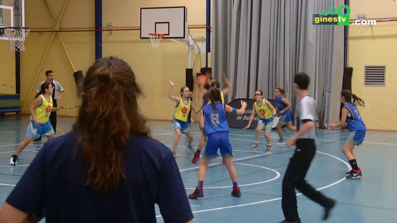 El CD Gines minibasket femenino gana la final a 4 y logra plaza para el Campeonato de Andalucía