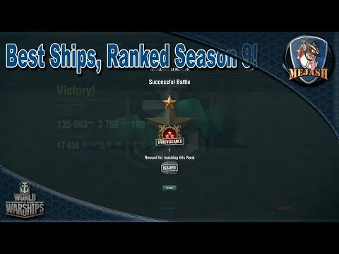 Best ships for Ranked Season 9! First season of T10s