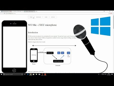 Use Your Smartphone As a Mic For PC- in 1 Minute