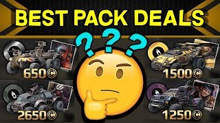 Best and Worst Pack Deals in Crossout