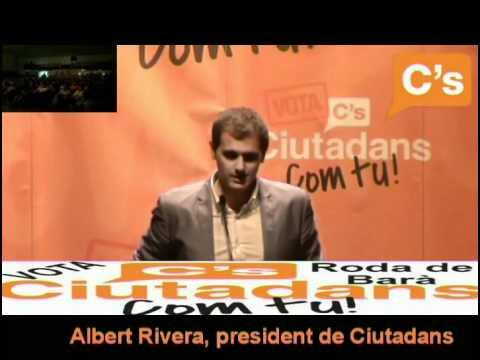 C's-Roda de Barà-intervención completa de albert Rivera en el mítin electoral