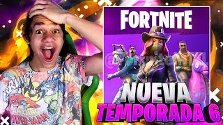 TRYING THE NEW SEASON 6 OF FORTNITE!! NEW BATTLE PASS, NEW SKINS AND MORE!!