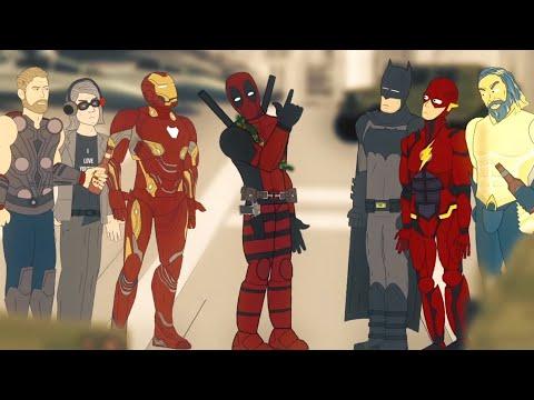Мстители против Лиги Справедливости — Новогодний кроссовер