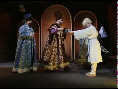 На фото «Достиг я высшей власти…». Предпремьерный показ трагедии в «Театральном Ковчеге» изображение