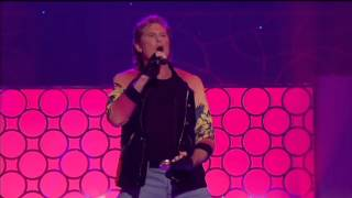 David Hasselhoff - True Survivor, Live Performance