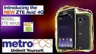 ZTE  Avid 4g Review MetroPCS