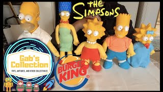 The Simpsons Dolls by Burger King (1990) - BK Kids Meal Toys