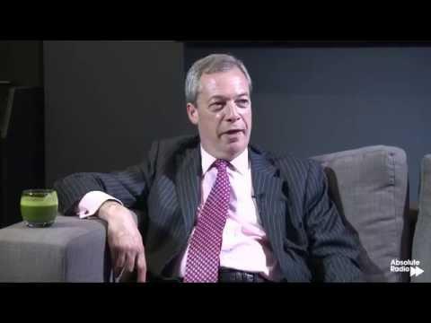 """Nigel Farage on Absolute Radio: Full Interview"""