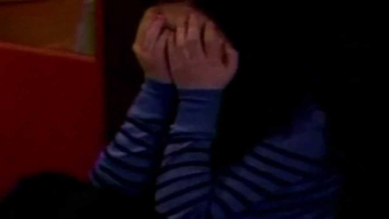 manip miranda sees justlena kiss and starts crying