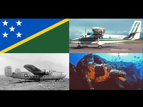 The 10 Deadliest Air Crashes of The Solomon Islands