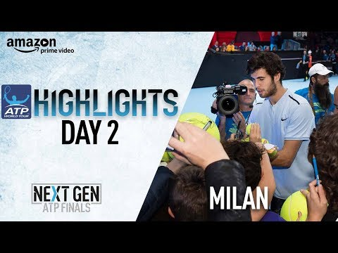 Highlights Khachanov Beats Donaldson In Milan 2017