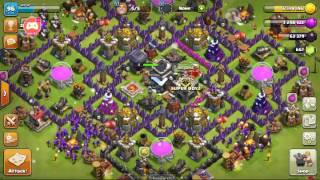 Clash of clans upgrading valkyrie nd bomber tower to lvl 3