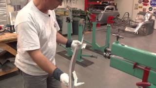 Metal Shaping With Lazze: Scratch Building Frame Rails For Ford Roadster Pedal Car
