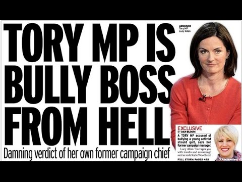 James O'Brien V Lucy Allan MP: a shocking tale of bullying and media bias