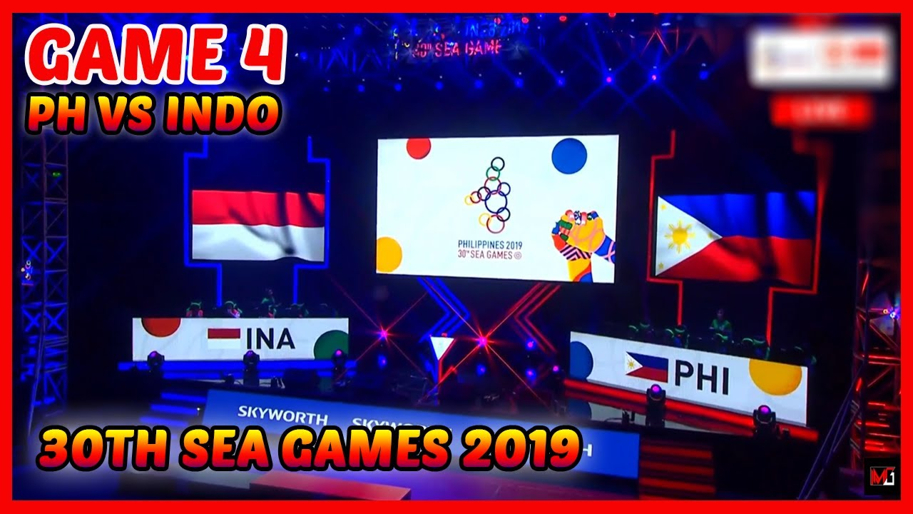 grand finals game 4 | ph vs indo | sea games 2019 - mobile